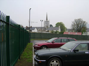 Ards Leisure Centre site: South view