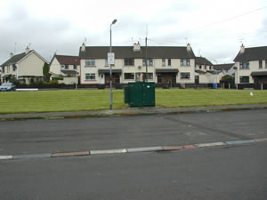 Ballymoney Glebeside Estate site: Site view